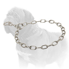 Mastiff Dog Fur Saver of Chrome Plated Steel