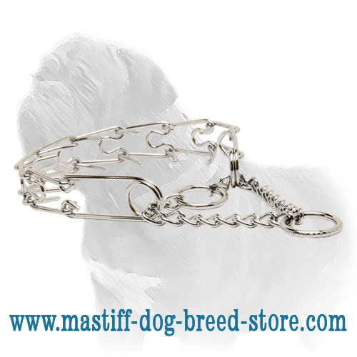 Dog Steel Choke Collar for Mastiffs training