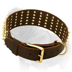 Fashion Leather Mastiff Collar