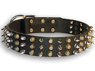 best leather spiked dog collar for all breeds