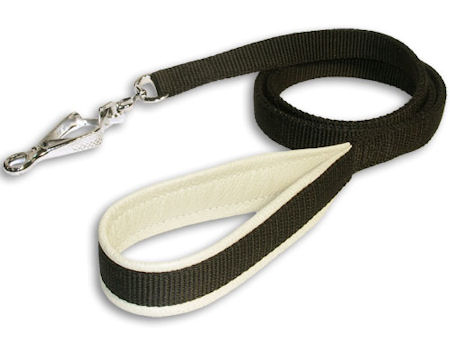 Double-Ply Nylon Leash 3/4 inch for Mastiff