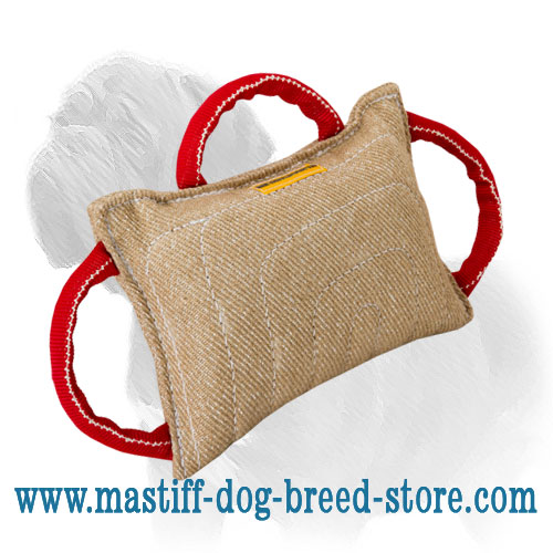 Bite pad for Mastiff training heavy duty     stitched