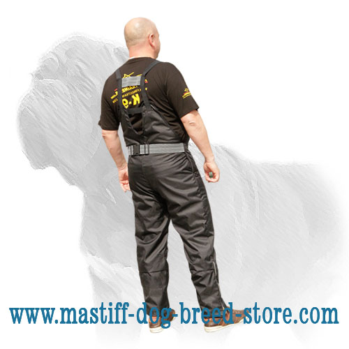 Pants for training work with Mastiff