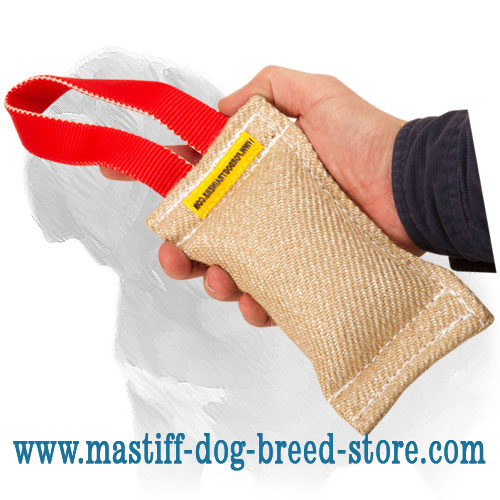 Dog bite tug for puppy training