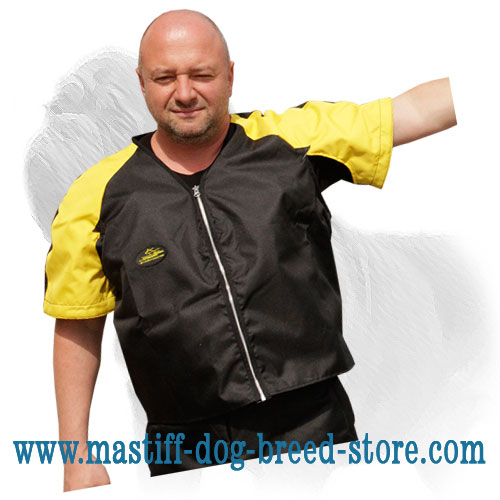 Super light weight dog scratch jacket for Mastiff trainings