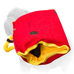 Soft bite sleeve for Mastiffs training made of strong synthetic material
