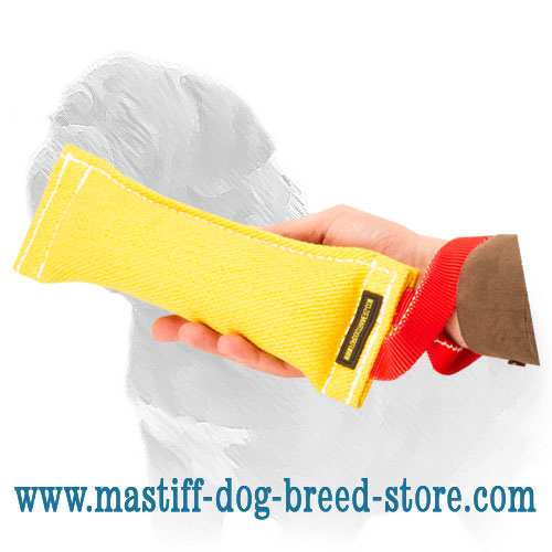1-handled dog bite tug