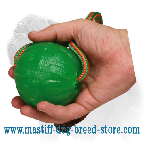 Dog ball for water sports
