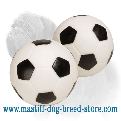 Mastiff sound ball for playtime