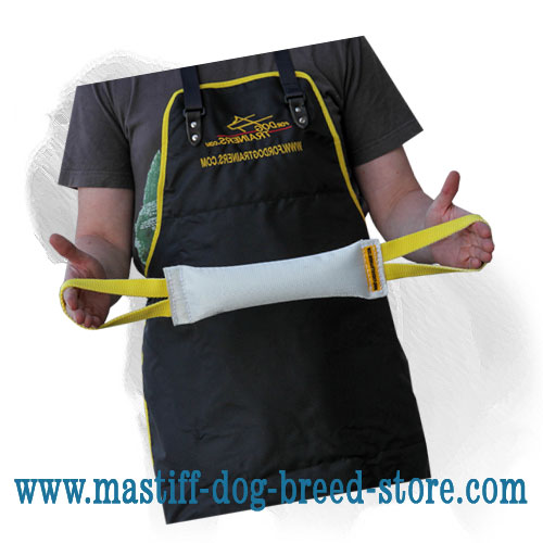 Sturdy bite tug for training Mastiff breeds