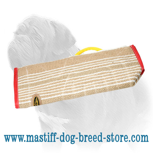 Mastiff Dog Bite Sleeve Cover of Jute Material - Click Image to Close