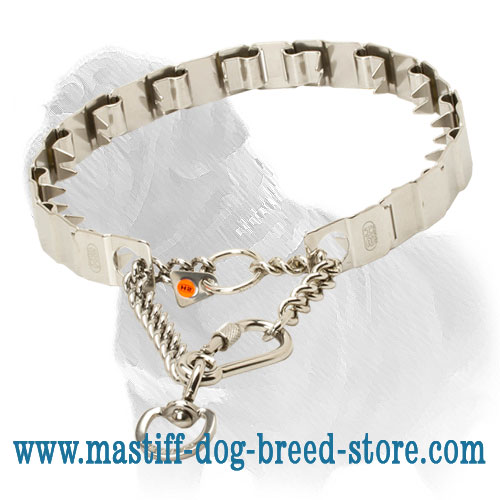 'Best Behaviour' Mastiff Dog Neck Tech Collar