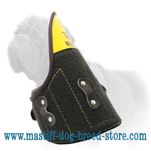 Removable Mastiff Training Shoulder Protector