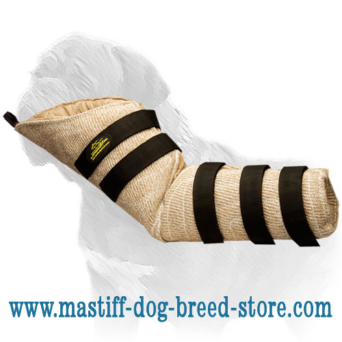 Snug Fit Mastiff Training Dog Hidden Sleeve