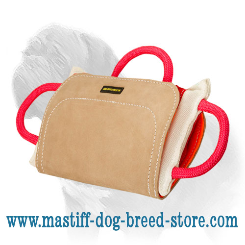 Top-Quality Mastiff Training Dog Bite Pad with Leather Cover