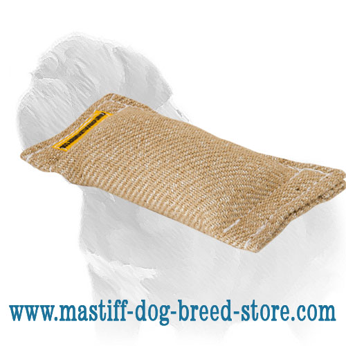 Mastiff Dog Bite Training Tug with Dog-Friendly Stuffing