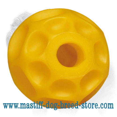 'Burden-off' Mastiff Dog Tetraflex Ball - MEDIUM