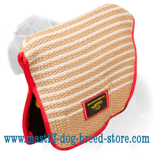 New Design Mastiff Dog Bite Builder of Jute Material