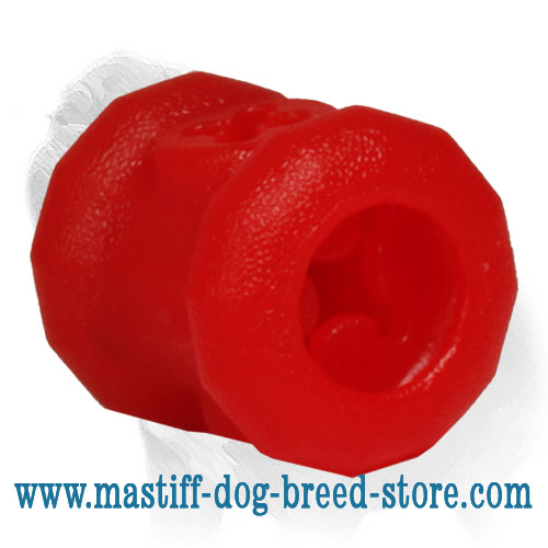 'Play and Feed' Mastiff Dog Rubber Chew Toy - LARGE