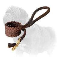 Incredibly Strong Racy Braided Mastiff Dog Leash