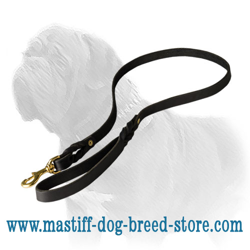 Dog leash for Mastiff long-servicing and strong