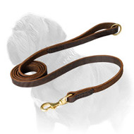 Walking Leather Mastiff Dog Leash
