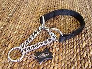 All Weather Nylon Martingale Dog Collar-