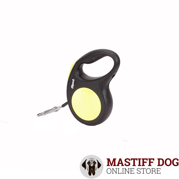 Retractable Leash for Total Safety Neon Style