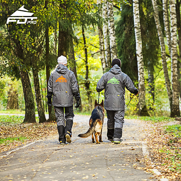 Professional Dog Training Jacket of Quality for All Weather Use