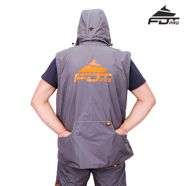 High Quality Dog Trainer Suit Grey Color from FDT Wear
