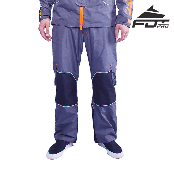 FDT Professional Pants Grey Color for Any Weather