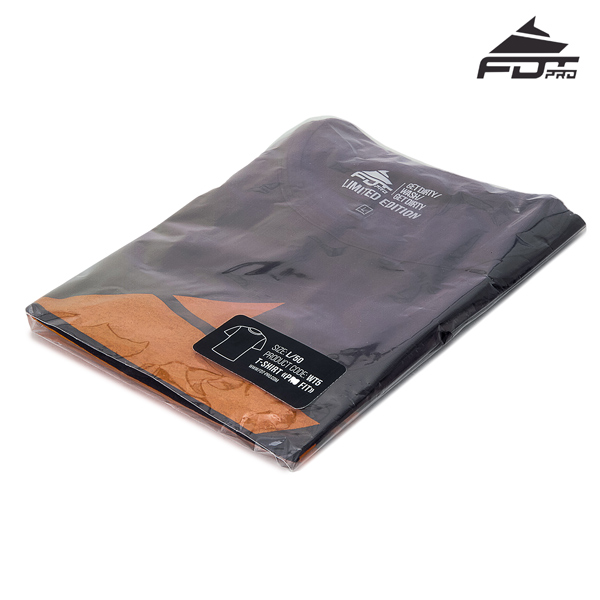 Prepacked Professional T-shirt of Dark Grey