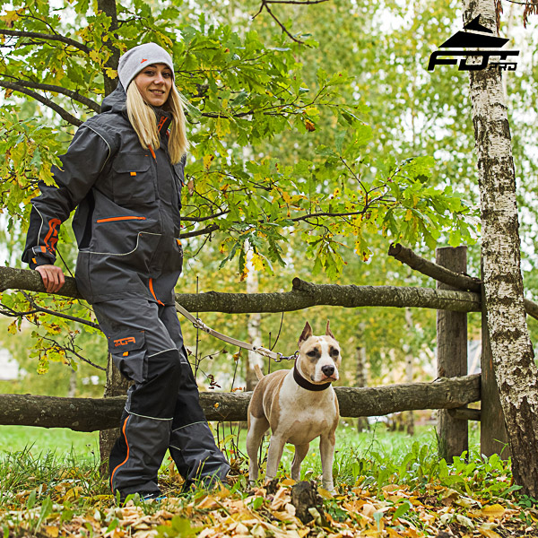 Unisex Design Pants with Comfortable Back Pockets for Active Dog Trainers