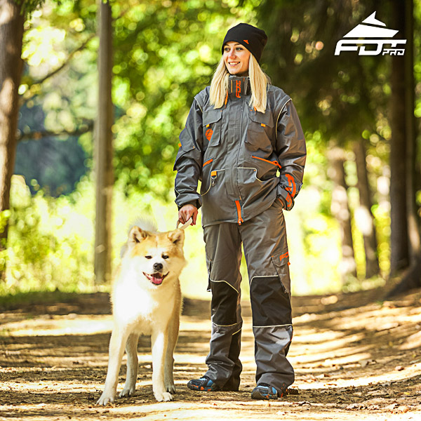 Men and Women Design Dog Training Jacket of High Quality Materials