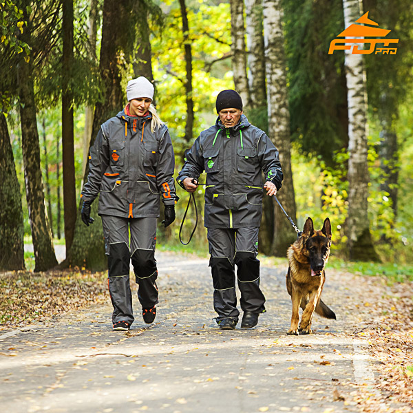 Any Weather Use High Quality Dog Training Suit for Men and Women